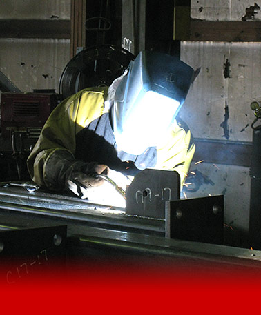 Welder at Kurland Steel